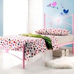 baby pink bed
