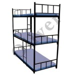 Dormitory Bunk Bed 3 Tier