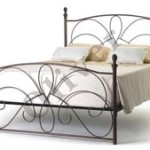 Non Storage Metal Bed butterfly