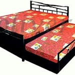 Storage Bed With Side Bed