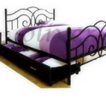 Glasgow Bed With Side Storage