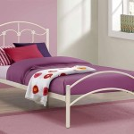 ivory single bed