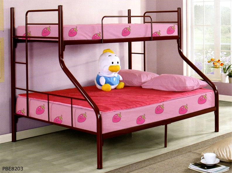 Pbe8203 metal twin full bunk bed frame furniturerun 1311 06 furniturerun 17 oliver metal furniture - Double decker daybed ...
