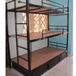3 tier bunk with drawers